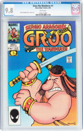 Modern Age (1980-Present):Humor, Groo the Wanderer #1 (Marvel, 1985) CGC NM/MT 9.8 White pages....