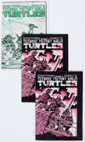 Modern Age (1980-Present):Superhero, Teenage Mutant Ninja Turtles #1 and 4 Group (Mirage Studios, 1985)Condition: Average FN-.... (Total: 3 Comic Books)