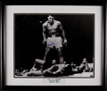 Boxing Collectibles:Autographs, Muhammad Ali Signed Oversized Photograph - Steiner. ...