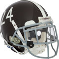 Football Collectibles:Helmets, 2009 Champ Bailey Game Worn Denver Broncos Throwback Helmet - Worn 10/11 and 10/19....