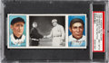 Baseball Cards:Singles (Pre-1930), 1912 T202 Hassan Just Before The Battle Meyers/Wiltse PSANM-MT 8....