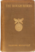 Political:Small Paper (1896-present), Theodore Roosevelt: Autobiographical Rough Rider Book....
