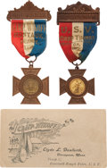 Political:Tokens & Medals, Theodore Roosevelt: Spanish American War Encampments.... (Total: 2 Items)