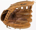 Baseball Collectibles:Others, 1970's Graig Nettles Game Used, Signed Fielder's Glove. ...