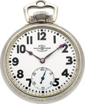 Timepieces:Pocket (post 1900), Ball Watch Co. 23 Jewel (Illinois) Circa 1930. ...
