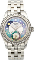 Timepieces:Wristwatch, Armand Nicolet M03, Lady's Moon & Date Automatic Ref. AN 9151-A. ...