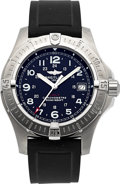 "Timepieces:Wristwatch, Breitling A74380 Choice Steel ""Colt"" Chronometer. ..."