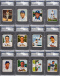 Autographs:Sports Cards, Signed 1950 Bowman Baseball PSA/DNA Collection (34). ...
