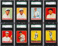 Baseball Cards:Lots, 1933 Goudey Baseball SGC 88 NM/MT 8 Collection (8). ...