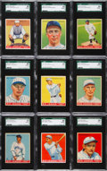 Baseball Cards:Lots, 1933 Goudey Baseball SGC 88 NM/MT 8 Collection (9). ...