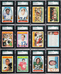 Football Cards:Sets, 1972 Topps Football Mid to High Grade Complete Set (351). ...
