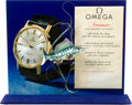 Timepieces:Other , Omega Vintage Dealers D-301 Seamaster Large Window Display, circa 1960. ...