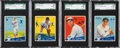 Baseball Cards:Lots, 1934 Goudey Baseball SGC 92 NM/MT+ 8.5 Collection (4). ...