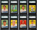 Baseball Cards:Lots, 1934 Goudey Baseball SGC 88 NM/MT 8 Collection (8). ...