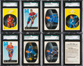 Hockey Cards:Lots, 1962 Parkhurst Hockey SGC Graded Collection (16). ...