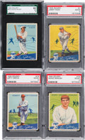 Baseball Cards:Sets, 1934 Goudey Baseball Partial Set (62/96). ...