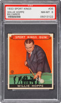 Olympic Cards:General, 1933 Sport Kings Willie Hoppe #36 PSA NM-MT 8. ...