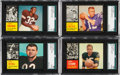 Football Cards:Sets, 1960 - 1962 Topps Football Complete Set Run (3). ...