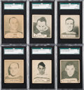 Hockey Cards:Lots, 1936/37 V356 World Wide Gum Hockey Partial Set (71/135). ...