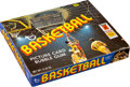 Basketball Cards:Unopened Packs/Display Boxes, 1972/73 Topps Basketball Wax Box With 24 Unopened Packs. ...