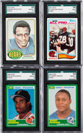 Football Cards:Sets, 1976 - 1989 Football Set Collection (9). ...