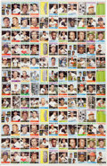 Baseball Cards:Unopened Packs/Display Boxes, 1964 Topps Baseball 2nd/3rd Series Uncut Proof Sheet With 132Cards. ...