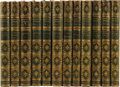 Books:Fiction, Charlotte, Emily, and Anne Bronte: Twelve Volume Set of The Works of Charlotte, Emily and Anne Bronte (London: Published... (Total: 12 Item)