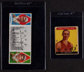 Baseball Cards:Lots, 1912 T202 Hassan I.Thomas/H.Krause and 1935 Sport Kings #5 Wachter lot....