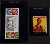 1912 T202 Hassan I.Thomas/H.Krause and 1935 Sport Kings #5 Wachter lot