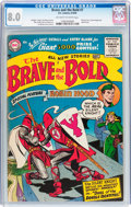 Silver Age (1956-1969):Adventure, The Brave and the Bold #7 (DC, 1956) CGC VF 8.0 Off-white to white pages....
