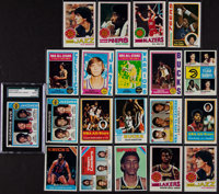 1970's Topps Basketball Collection Stars and HoFers (20)