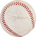 Baseball Collectibles:Balls, 1960's Dizzy Dean Single Signed Baseball. ...