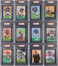 Autographs:Sports Cards, Signed 1989 - 2012 Goal Line Art Hall of Fame PSA Graded Collection (81). ...