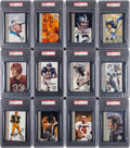 """Autographs:Sports Cards, Signed 1998 """"Ron Mix"""" Football Hall of Fame PSA Graded Complete Set (116). ..."""