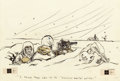 """Mainstream Illustration, BILL MAULDIN (American, 1921-2003). """"I Think They Call it th''Scorched Earth' Policy."""" Star Spangled Banter cartoon illus..."""
