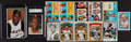 Baseball Cards:Lots, 1957 Through 1973 Topps Roberto Clemente Collection (13). ...