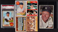 Baseball Cards:Lots, 1957 Through 1969 Topps Mickey Mantle Collection (6)....