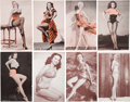 Non-Sport Cards:Sets, 1950's Exhibits Celebrity and Pin Up Sets Trio (3). ...
