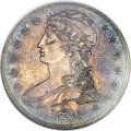 Reeded Edge Half Dollars, 1838-O 50C GR-1, R.7, PR64 NGC. CAC....