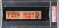 Baseball Collectibles:Tickets, 1946 Jackie Robinson Minor League Debut Full Ticket....