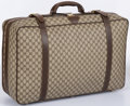 "Luxury Accessories:Accessories, Gucci Classic Monogram Canvas Suitcase. Good Condition.26"" Width x 17"" Height x 8"" Depth. ..."