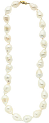 South Sea Cultured Pearls, Gold Necklace