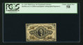 Fractional Currency:Third Issue, Fr. 1254 10¢ Third Issue PCGS Choice About New 58.. ...