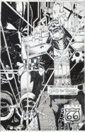 Original Comic Art:Covers, Richard Case Doom Patrol #66 Cover Original Art (DC, 1993)....