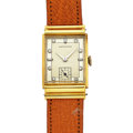 Timepieces:Wristwatch, Hamilton Vintage 18k Gold & Diamond Wristwatch. ...
