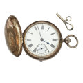 Timepieces:Pocket (pre 1900) , English Sterling 11 Jewel Fusee Pocket Watch. ...