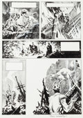 "Original Comic Art:Panel Pages, Bernie Wrightson Creepy #62 ""The Black Cat"" Page 11 OriginalArt (Warren, 1974)...."