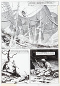 "Original Comic Art:Panel Pages, Bernie Wrightson Eerie #58 ""Pepper Lake Monster"" Page 28Original Art (Warren, 1974)...."