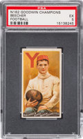 Baseball Cards:Singles (Pre-1930), 1888 N162 Goodwin Champions Harry Beecher/Football PSA EX 5....