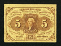 Fractional Currency:First Issue, Fr. 1230 5¢ First Issue Very Fine-Extremely Fine.. ...